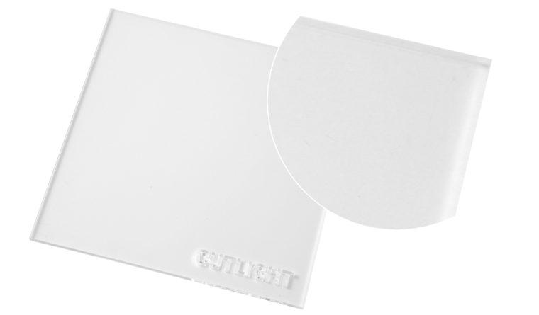 Clear cast acrylic Perspex : Cutlight